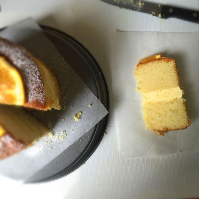 Orange Italian Meringue Buttercream