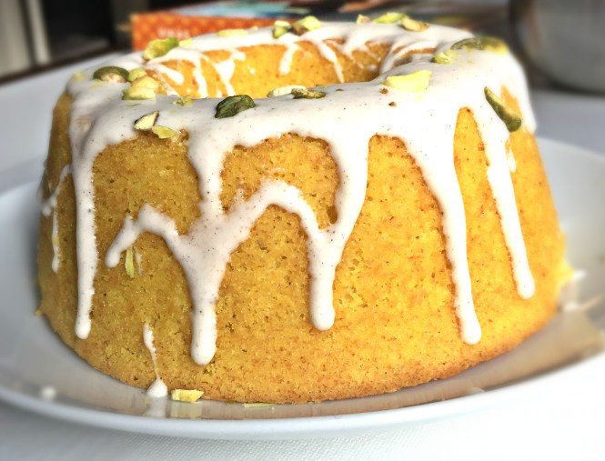 Golden Milk Turmeric Cake