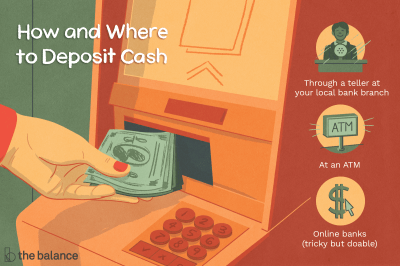 How and Where to Deposit Cash (Including Online Banks)