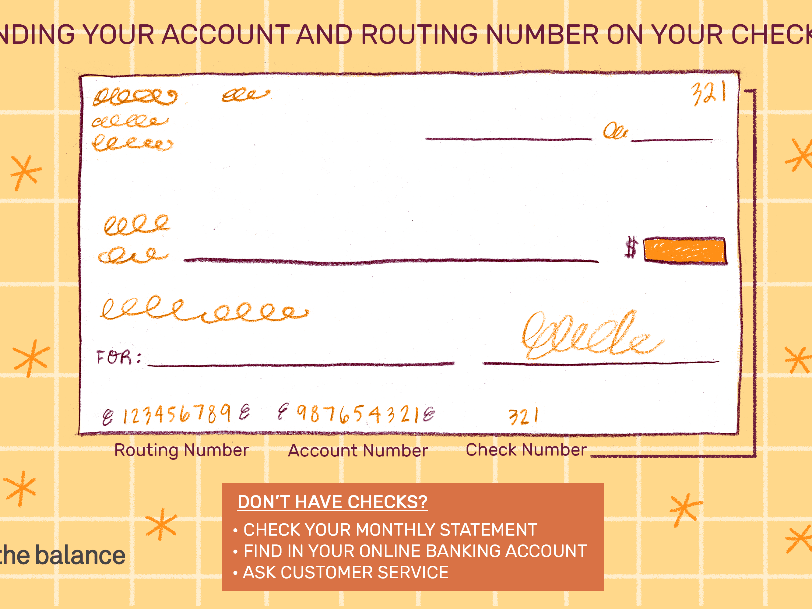 Find Your Account Number On A Check