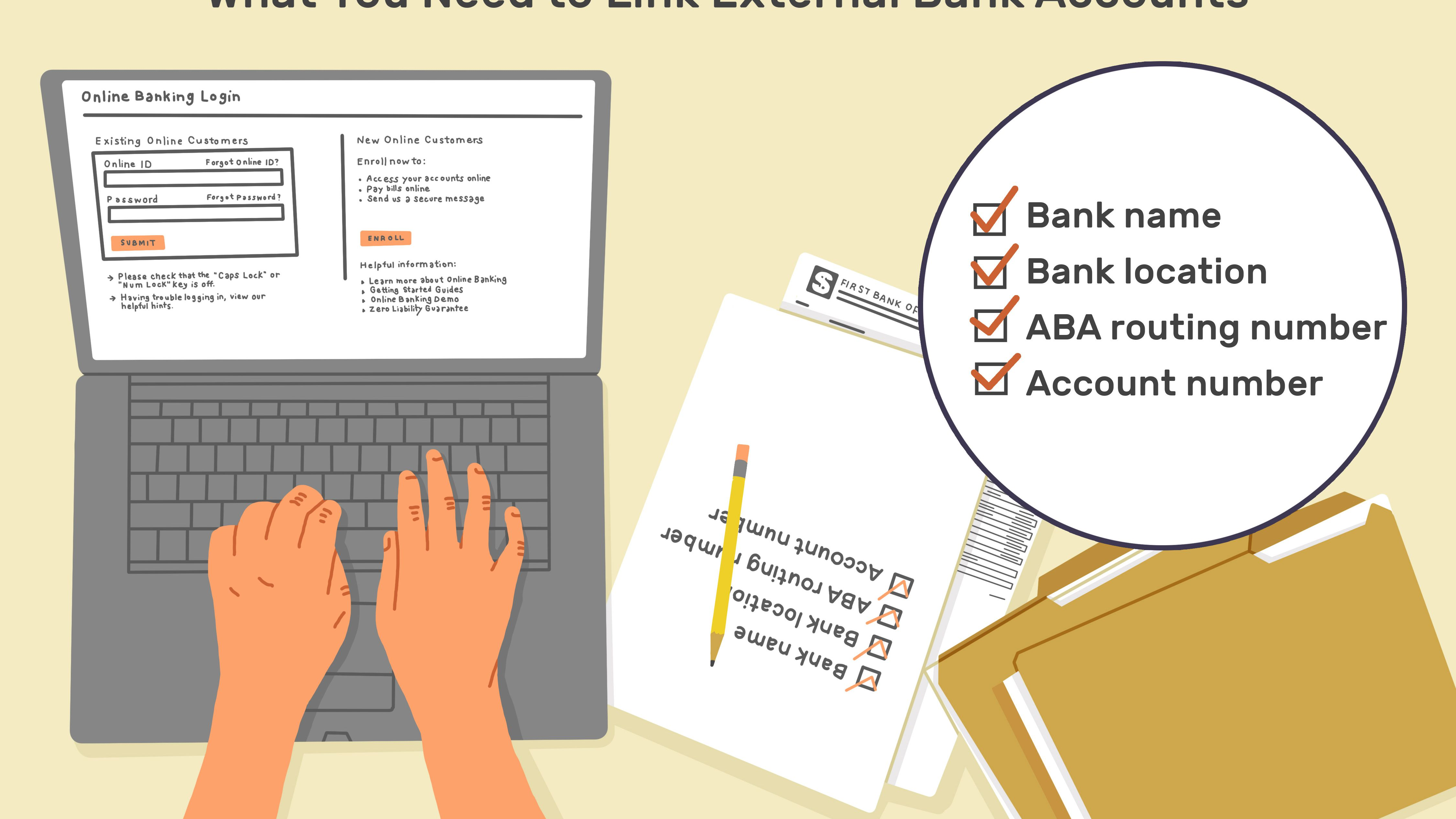 How To Link Bank Accounts For Transfers And Payments