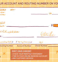 where is the account number on a check  [ 3000 x 2000 Pixel ]