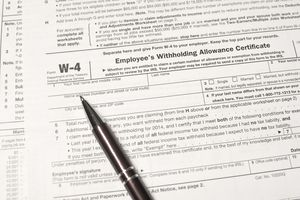 Reviewing the Withholding Election on Your IRS W-4 Form