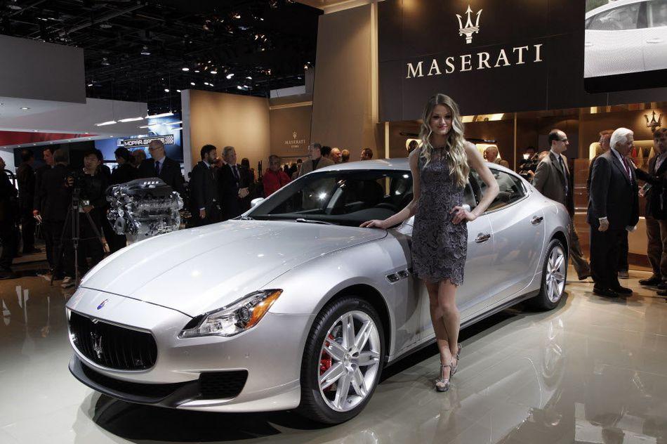 Maserati model