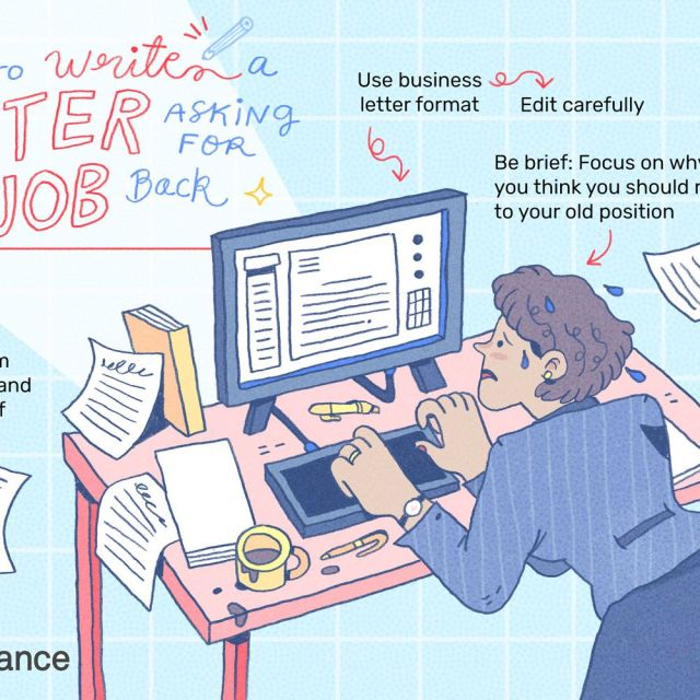 Tips for Writing a Letter Asking for Your Job Back