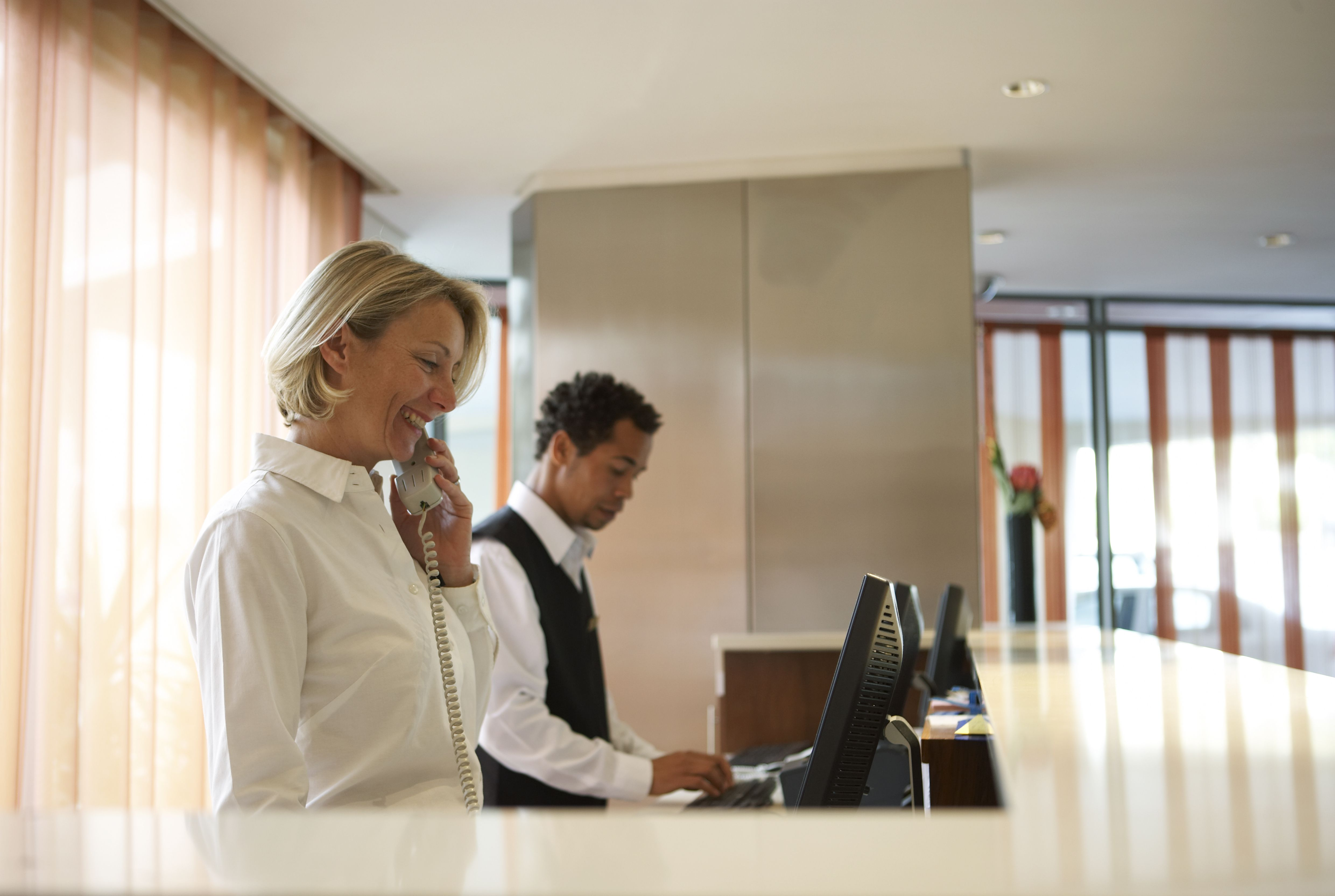 cover letters receptionist