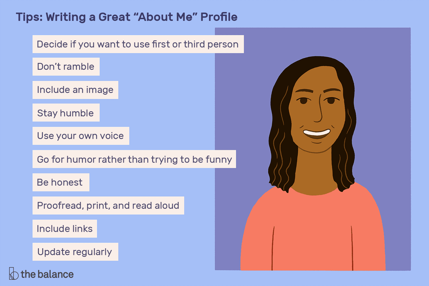 How To Write A Perfect About Me Page With Examples