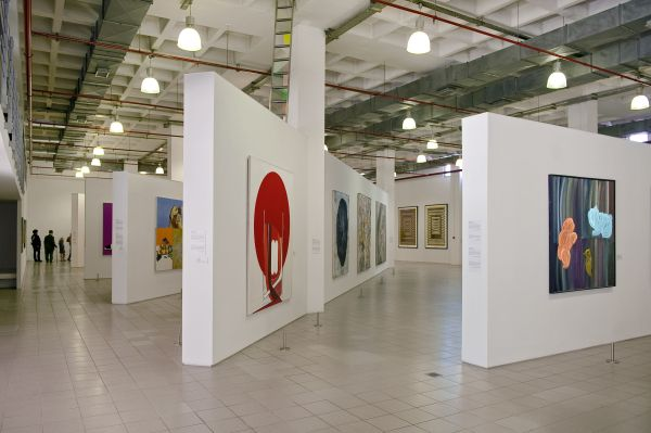 Art Gallery Display Interior