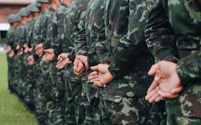 Army Full Sleeve Tattoo