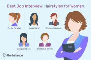 job interview hairstyles
