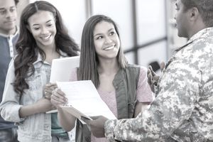 the military entrance processing