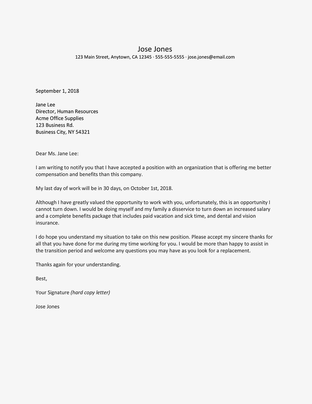 Sample Letter Housing Allowance Request Employer