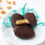 Chocolate Cashew-Coconut Butter Eggs