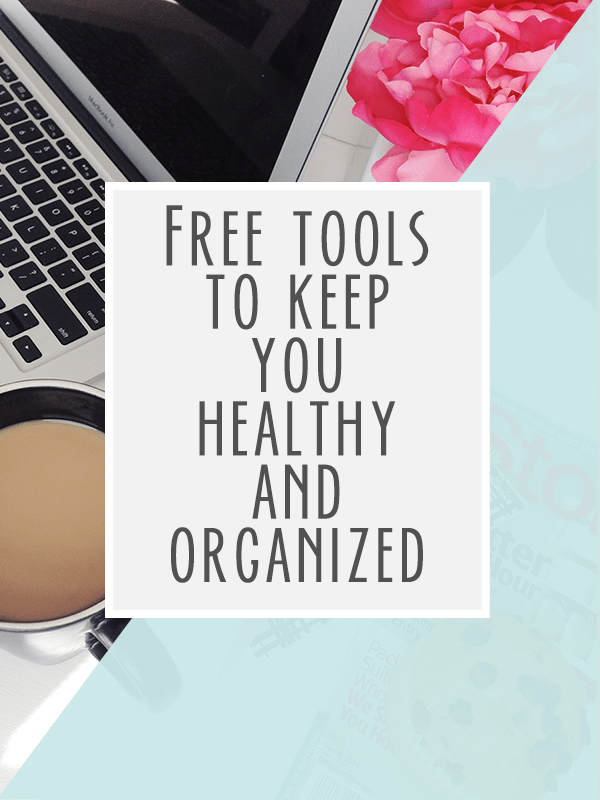 Free printables to help you stay organized and stick to your healthy habits. Click through to access the toolkit of resources!