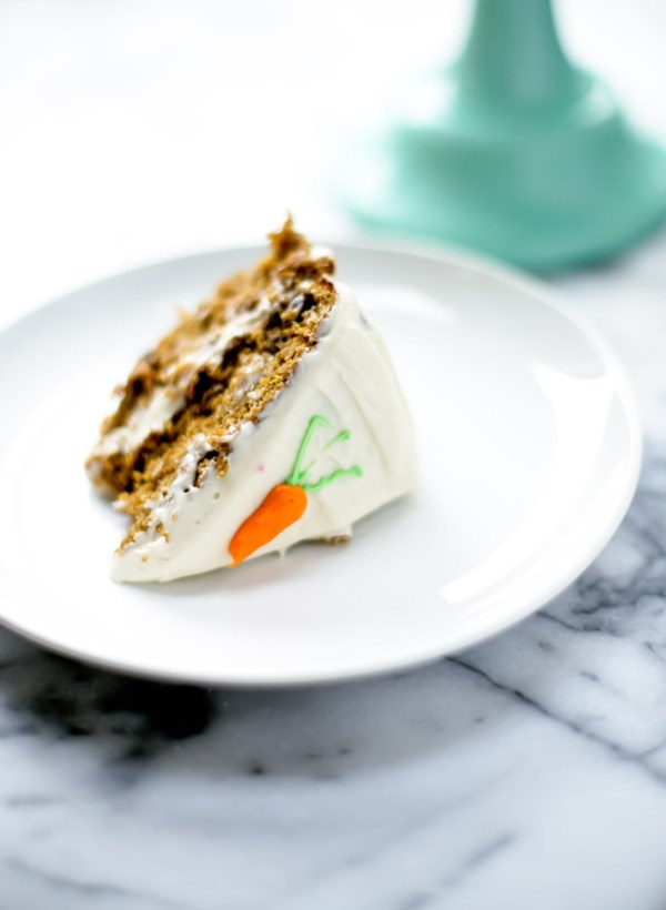 This classic carrot cake is made with wholesome ingredients. It is sweet, perfectly spiced and incredibly easy to make.