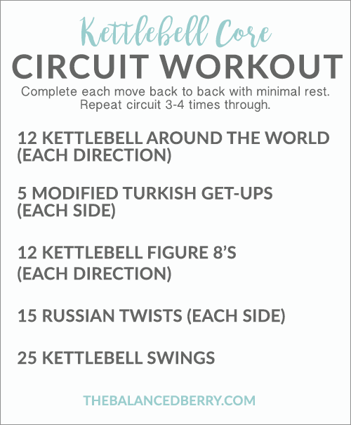 This Kettlebell Core Workout Will Strengthen And Challenge Your Entire