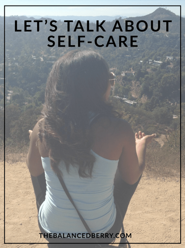 Let's talk about self-care: strategies for improving self-love.