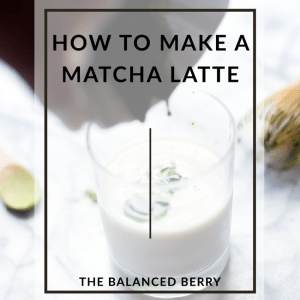 {Video} How to make a matcha latte