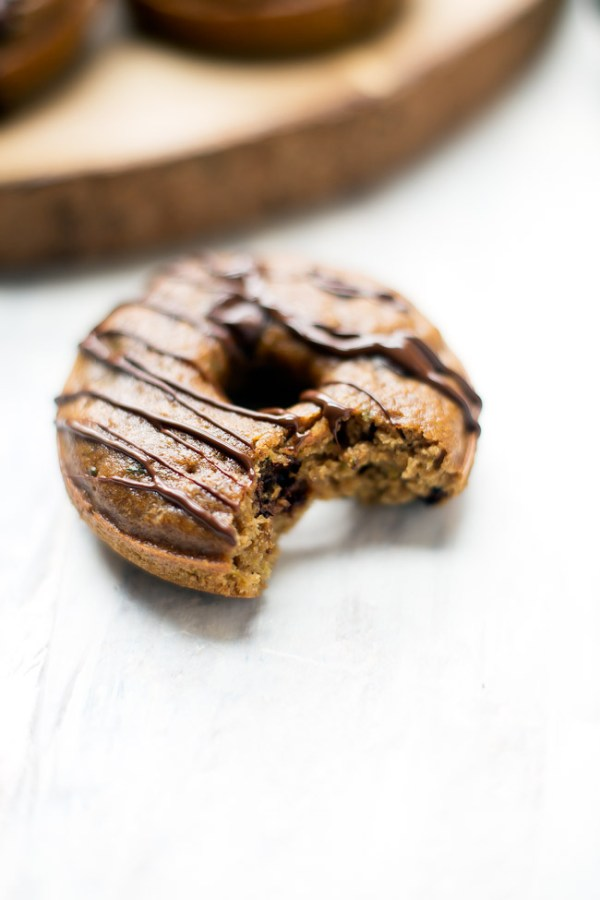 These chocolate chip zucchini donuts are a nutrition-packed twist on your favorite breakfast treat!