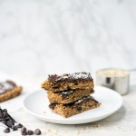 The Best Peanut Butter Chocolate Oatmeal Bars