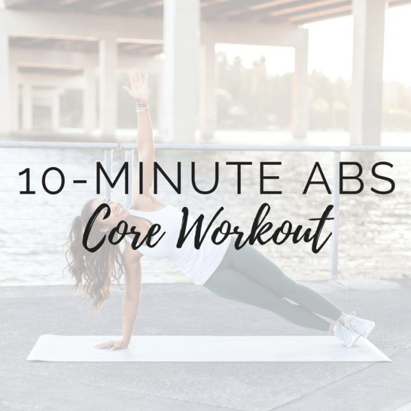 10-Minute Ab Workout (No Crunches!)