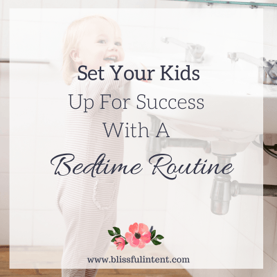The Beauty Of A Bedtime Routines