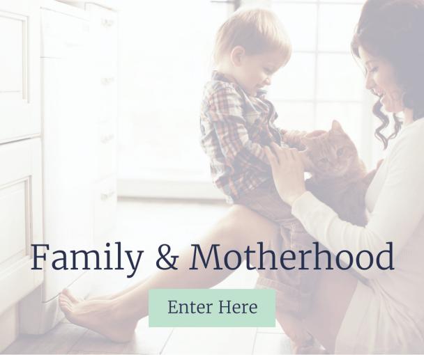 blissful intent family motherhood