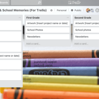 Organizing Kid's Artwork With Trello