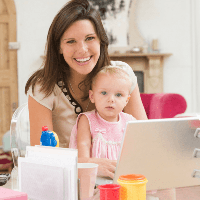 Learn how to be productive during the summer when your kids are home. You can still get a lot done and be really productive. These aren't time management tips for moms but instead are lifestyle tips. #timemanagement #productivity #momlife