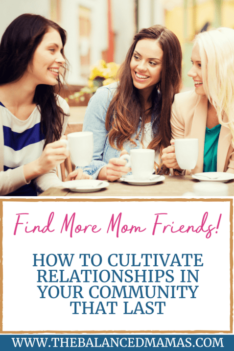 cultivate relationships in your community