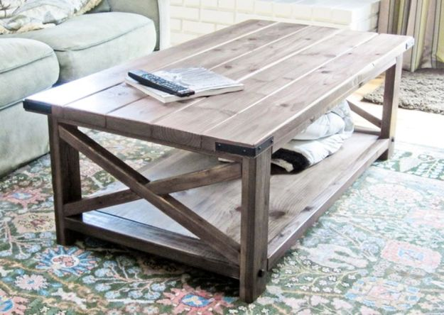 19 free coffee table plans you can diy today