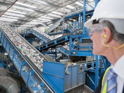 small resolution of single stream recycling diagram
