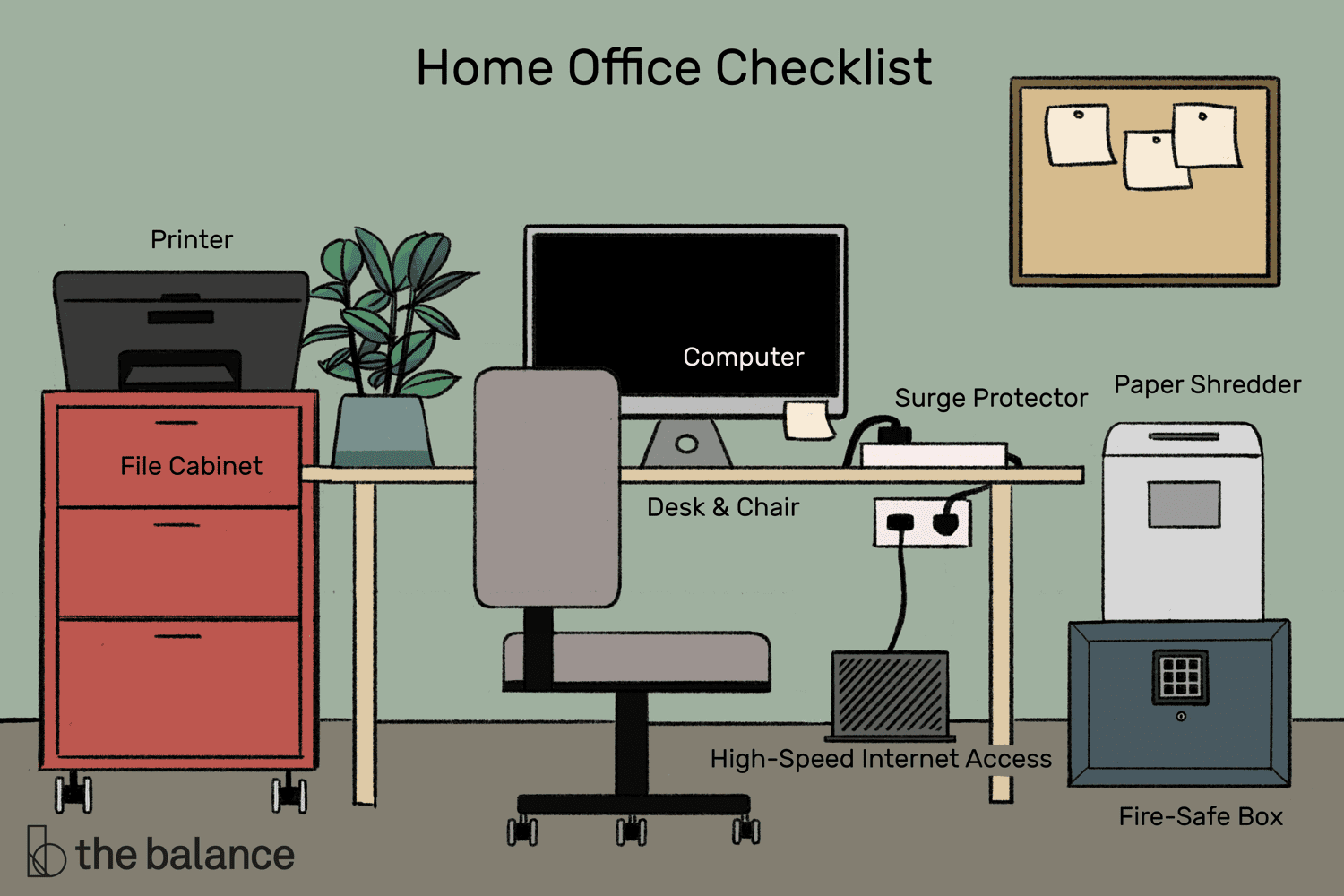 17 Items You Need to Set up an Efficient Home Office