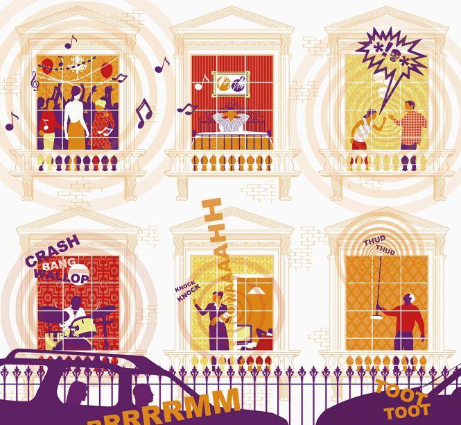 Noisy Tenants And A Landlord S