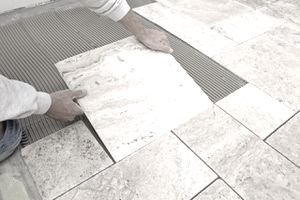 sealing and protecting marble tile flooring