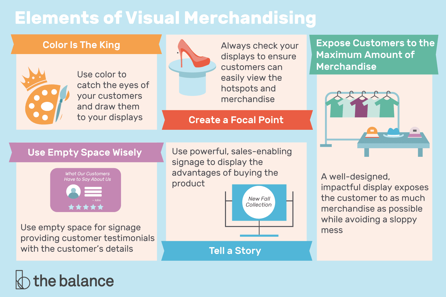 5 Most Important Elements Of Visual Merchandising