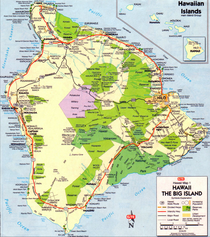 Twelve distinct climate zones exist here, ranging from East Hawaii's