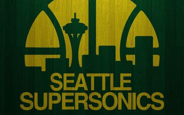 Seattle Supersonics '80s logo