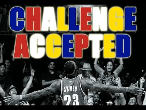 LBJ Challenge Accepted Meme
