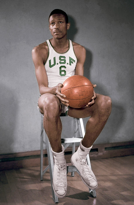 Bill Russell at USF
