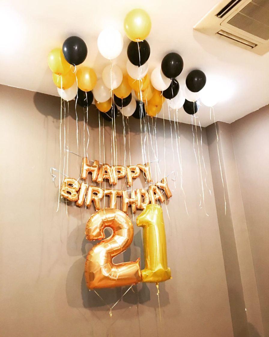 21st-birthday-helium-balloons