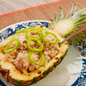 Easy Pineapple Fried Rice For Two v1