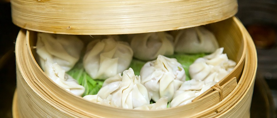 First Appetizer Recipe Featuring Chinese Pork Dumplings