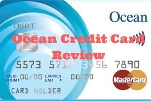 Ocean credit card review