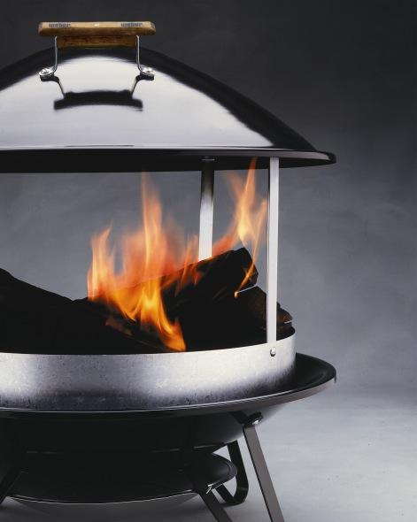 Weber Wood Burning Fireplace