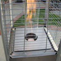Gas Patio Heater Pyramid - The Barbecue Store Spain