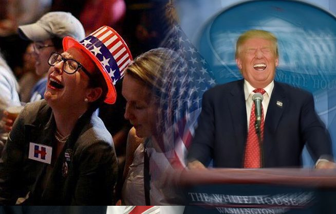 Global Whining Over Trump Victory Reaching Tipping Point