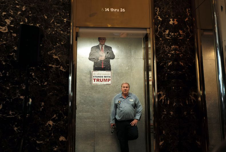 Tourist Accidentally Enters Trump Elevator, Leaves With Cabinet Position