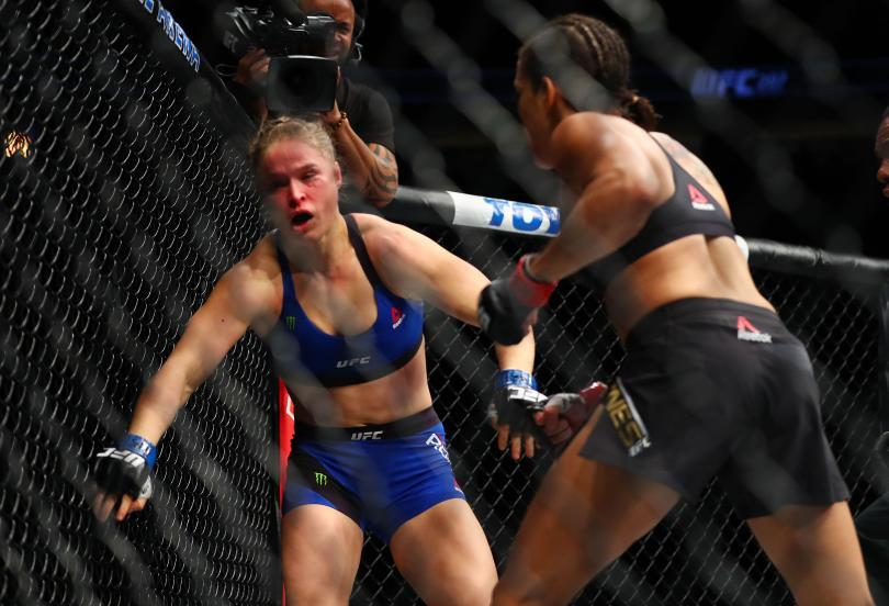 "UFC Fighter Ronda Rousey: ""Now I Know How Hillary Must Have Felt"""