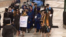 Future Baristas Walk Out on VP Pence Commencement Speech